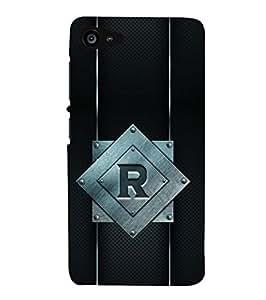 YuBingo Lenovo ZUK Z2 :: Lenovo Zuk Z2 Plus Designer Phone Back Case Cover ( Radiant Letter R (Metal Finish Plastic) )