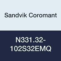 Sandvik Coromant n331.32–102s32emq coromill 331ajustable Full lado y cara disco cortador de fresado