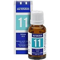 Schuessler Globuli Nr. 11 - Silicea D12 - 15g Globuli - gluten- und laktosefrei preisvergleich bei billige-tabletten.eu