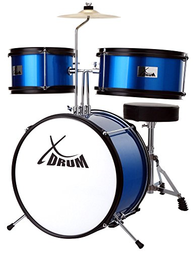 XDrum Junior KIDS Batteria colore blu con DVD