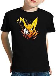 The Fan Tee Camiseta de NIÑOS Naruto Sasuke Kakashi Itachi 030