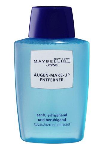 Maybelline Augen-Make-Up Entferner, entfernt Augen Make-up besonders schonend, wirkt erfrischend und beruhigend, auf die Tränenflüssigkeit abgestimmter ph-Wert, augenärztlich getestet, 125 ml