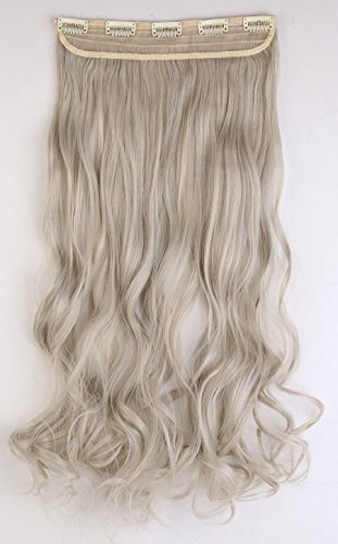 s-noiliter-uk-women-24-inches-60cm-ash-blonde-mix-silver-grey-one-piece-long-curly-wavy-3-4-full-hea