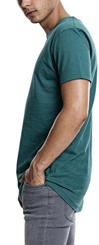 - 41Skq6O2VHL - Urban Classics Herren T-Shirt Shaped Long Tee