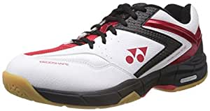 Yonex SHB SC2IEX Badminton Shoes, 10 UK (Black/Red)