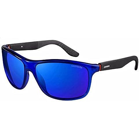Carrera ca8001/S 0VI cristallo blu occhiali da sole