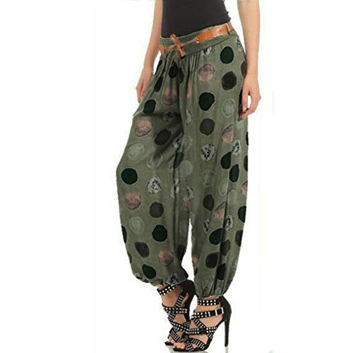 (Yvelands One Size Damen Hosen Elegant High Waist Stretch Chiffon Skinny Hosen)