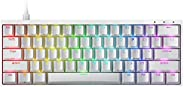 Durgod HK Venus RGB Mechanical Gaming Keyboard - 60% Layout - Double Shot PBT Cherry Profile - NKRO - USB Type