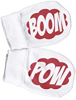 Spoilt Rotten - BOOM and POW 100% Organic Cotton Scratch Mittens
