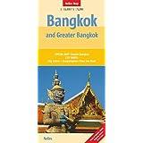 Nelles Map Landkarte Bangkok and Greater Bangkok: 1:15.000 / 1:75.000 | reiß- und wasserfest; waterproof and tear-resistant; indéchirable et imperméable; irrompible & impermeable