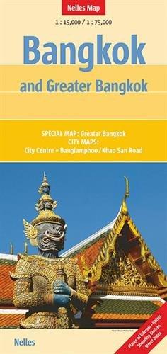 Bangkok &Greater Bangkok nel.map Banglamphoo par Nelles Verlag