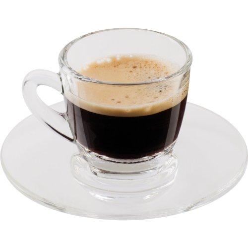 ScanPart Espressotassenset Glas 2 Stück