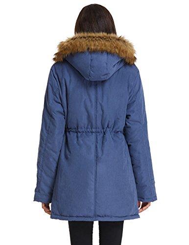 Naketano mantel mit kapuze