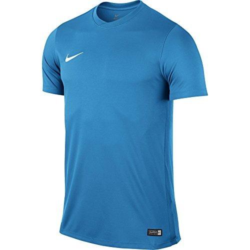 NIKE Herren Kurzarm Trikot Park VI, Blau (University Blue/White), Gr. L (Elite-jersey-shorts)
