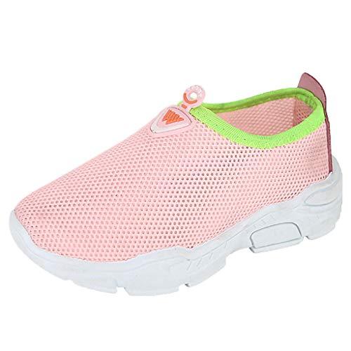 899078f746 Alwayswin Kinder Jungen Mädchen Mesh Freizeitschuhe Turnschuhe Sport Run  Sportschuhe Atmungsaktive Leichte Laufschuhe Outdoor rutschfeste Sneaker