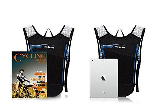 West Biking 6L Ultralight Radfahren Mini Bike Rucksack Fahrrad Tasche Rucksack für Camping Laufen Wandern Daypack Gelb - gelb