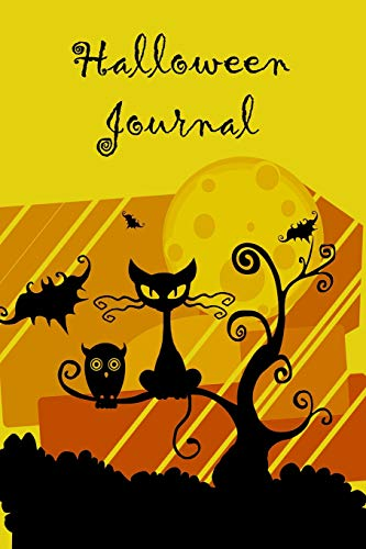 Halloween Journal: Notebook 150 Pages, 6x9