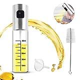 Ölsprüher Öl Sprühflasche - YeeStone Oil Sprayer Öl Zerstäuber Öl Sprüher Flasche Essig Spender Flasche Essigsprüher mit Bürste und Trichter