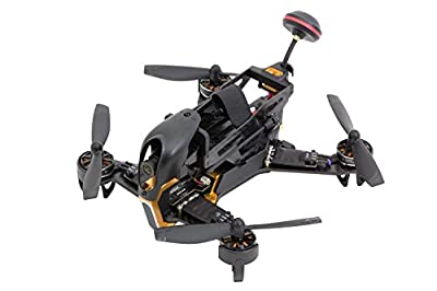 XciteRC 15003950FPV Racing Quadrocopter F210RTB with Sony HD Camera-Black