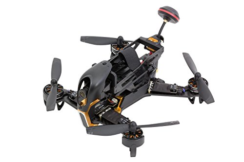 XciteRC 15003950 - FPV Racing Quadrocopter F210 RTB mit Sony HD Kamera, schwarz