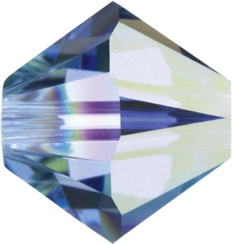 Original Swarovski Elements Beads 5328 MM 4,0 - Olivine (228) ; Diameter in mm: 4.0 ; Packing Unit: 1440 pcs. Light Sapphire Aurore Boreale (211 AB)