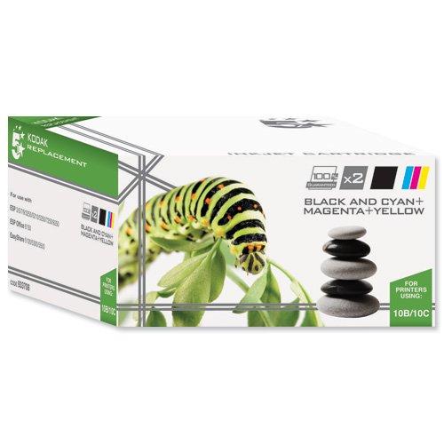 5 Star Compatible Inkjet Cartridge Black and Colour [Kodak 10B/10C Alternative][Pack 2]