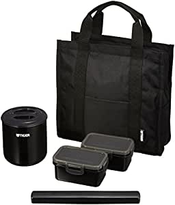 Tiger Black Lunchbox Thermos Lwy-t036-k (Mens Specification)japan Import (japan import)