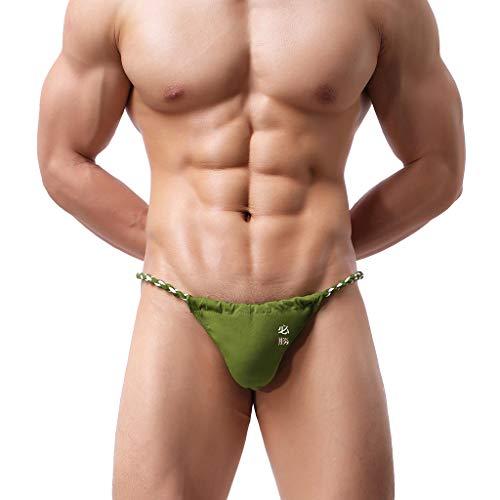 HET Sexy Herren T Zurück Pouch Thongs G-String Unterwäsche Jockstrap Low Waist Boxer Briefs Unterhose - Coolmax Boxer Briefs