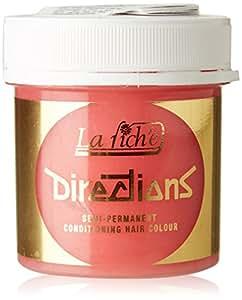 directions La Riche semi-permanent Couleur des cheveux conditionnement 89ml - Rose Pastel & teintage Brosse