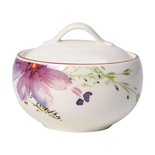 Villeroy & Boch Mariefleur Tea Zuckerdose, 175 ml, Höhe: 6,5 cm, Premium Porzellan, Bunt
