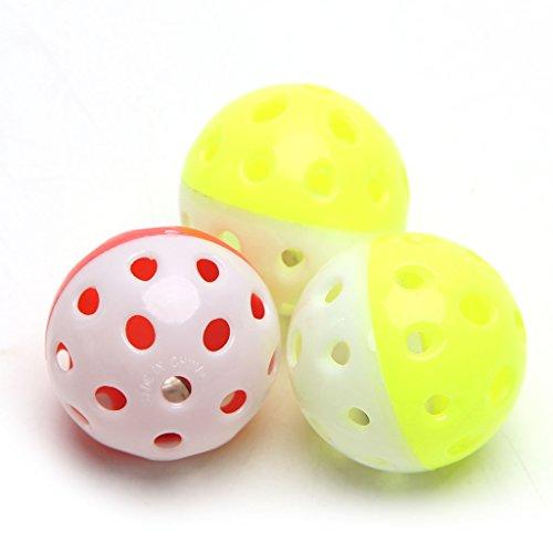 Kathope Pet Papagei Spielzeug Vogel Hohl Glocke Ball Für Sittich Nymphensittich Kauen Spaß Käfig Spielzeug