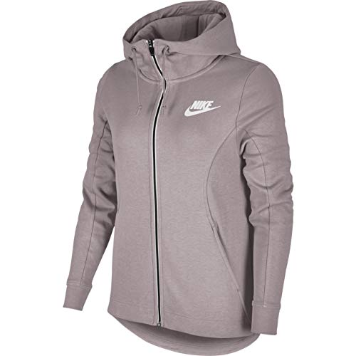 Nike Damen Advance 15 Full-Zip Kapuzenpullover, Particle Rose/White, S Rosa Terry Hoodie
