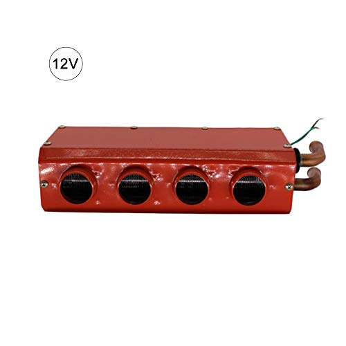 Waroomss Calentador de automóviles, Calentadores de automóviles de 12 V / 24 V, Pequeños descongeladores de calefacción Calentador de automóviles Aparcamiento Calefacción