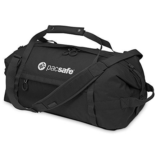 Pacsafe DuffelSafe AT100Diebstahlschutz Duffel Bag, schwarz (schwarz) - 22115 schwarz