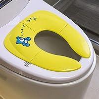 Adaptador WC niños Asiento Orinal Portátil - Tu Aliado para Casa y Viajes, Solución higiénica en los inodoros públicos, Antideslizante y Plegable