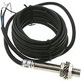 Cablematic - Sensor interruptor de proximidad inductivo 6-36 VDC PNP NO M12 Sn:2mm
