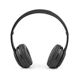 Ambrane Ultra Comfortable Wireless Bluetooth Headphones WH-11 With Mic(Black)