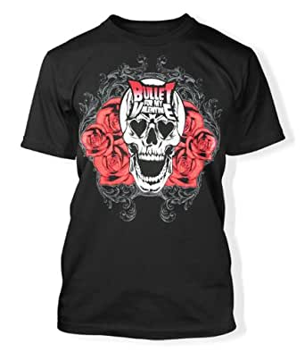 BULLET FOR MY VALENTINE - SKULL BLOOM T-Shirt, Größe XL