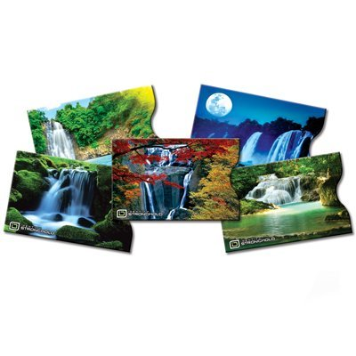 identity-stronghold-designer-sleeves-waterfall-collection-5-credit-debit-card-sleeves-by-identity-st