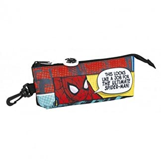 Spiderman – Estuche portatodo triangular (Safta 811743323)