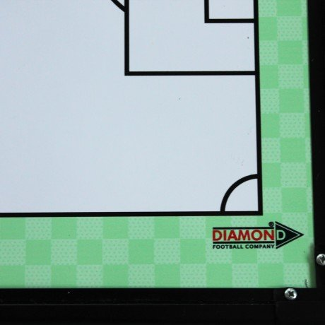 Diamond Football Double Sided Standard Tactic Board 60cm x 40cm with Magnetic Counters