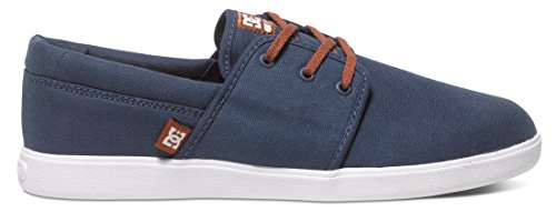 DC Shoes  Herren Schuhe Haven, Chaussures de Skateboard Homme Bleu (Navy Camel NC2)
