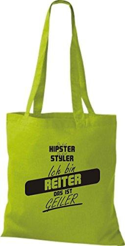 Borsa Di Stoffa Shirtstown Sei Hipster Sei Styler Sono Un Pilota Che È Calce Corneo