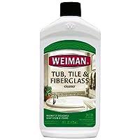 Weiman Tub Tile and Fiberglass Cleaner 16oz bottle (pack of 2)