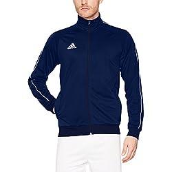 Adidas Core18 PES Jkt Sport Chaqueta De Hombre Azul/Blanco Talla M