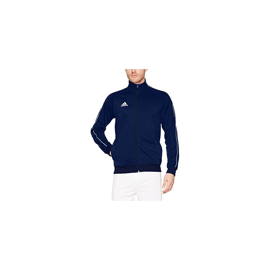 adidas CORE18 PES JKT Giacca Uomo AZUFUE//BLANCO XS Blu -