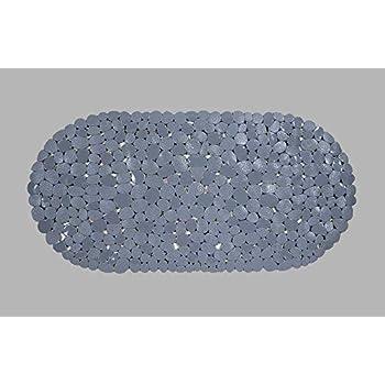 Ideal Textiles Non Slip Pebble Bath Mat Pvc 68cm X 36cm