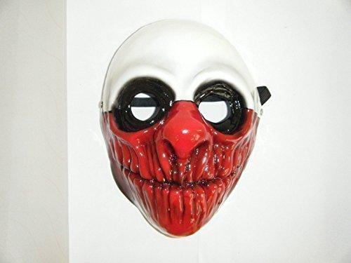 UK Payday 2 The Heist Wolf Requisiten Maske Kostüm Replika Erwachsen Kinder - Payday 2 Kostüm
