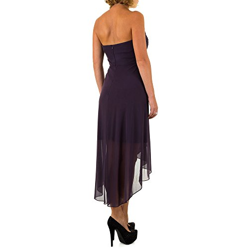 Vera Mont Chiffon Spitzen Kleid Für Damen bei Ital-Design Violett MKL-VM4640-1