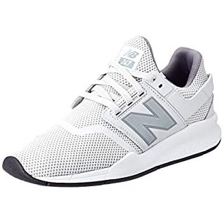 New Balance Herren 247v2 Sneaker Weiß (Summer Fog/Silver Fe) 43 EU